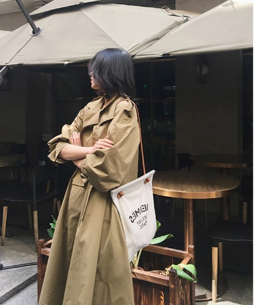【OSHARESTA★TOKYO】Cool  大人きれいめ  トレンチコート