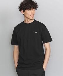<LACOSTE(ラコステ)> COTTON PIQUE C/N/カットソー
