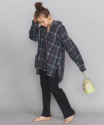 【別注】<AMERICANA(アメリカーナ)>チェックシャツ/ダークグリーン