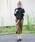 select MOCA(セレクトモカ)の「【再入荷】【2017A/W】ボリュームフレアぺプラム後ろ長めデザイン長袖プチハイネックサイドヘムニットトップス(ニット/セーター)」|詳細画像