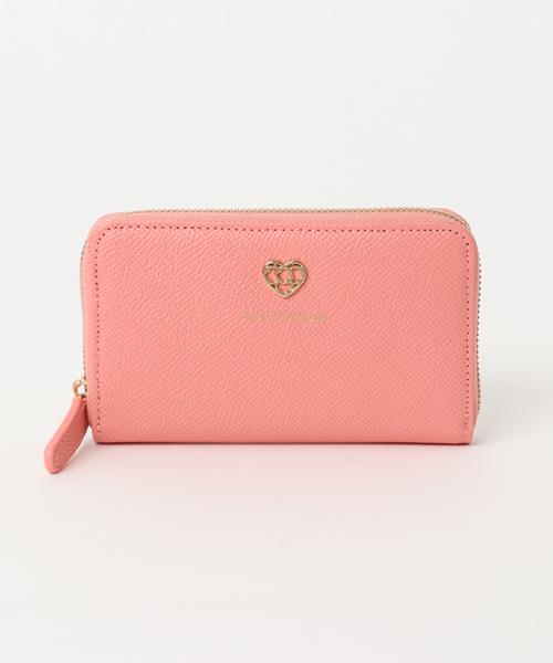 GIULIETTAVERONA(ジュリエッタヴェローナ)の「【GIULIETTAVERONA】 ジュリエッタヴェローナ ラウンドファスナー財布(財布)」|ピンク