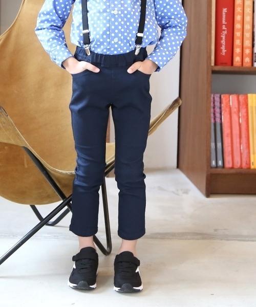【coen キッズ / ジュニア】ストレッチイージースキニーパンツ18SS(100〜150cm) 保育園/通学