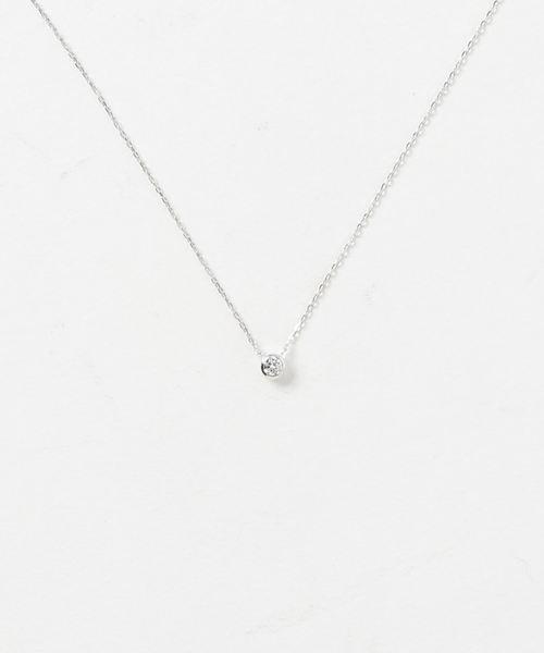 公式サイト K18WG ダイヤモンド ダイヤモンド ネックレス(ネックレス)|Jouete(ジュエッテ)のファッション通販, セトウチチョウ:2407e2c2 --- fahrservice-fischer.de