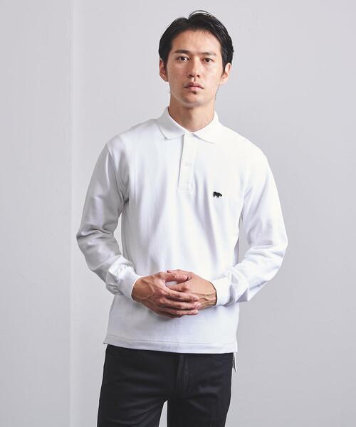 <SCYE BASICS(サイベーシックス)> ロングスリーブ ポロシャツ