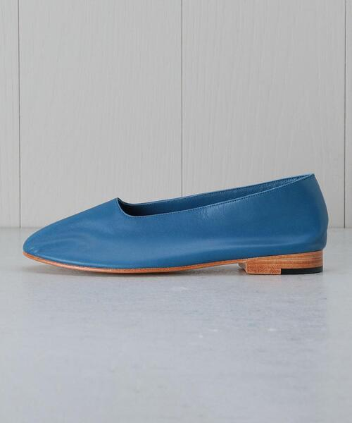<MARTINIANO>GLOVE LEATHER FLAT SHOES/シューズ.