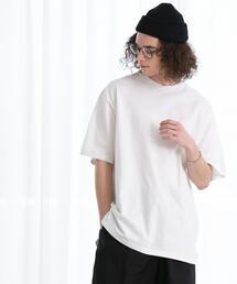 FEELING MADE ブラッシュドコットン バックプリント フットボールTシャツ