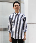 FRED PERRY | Block Stripe Shirt(シャツ・ブラウス)