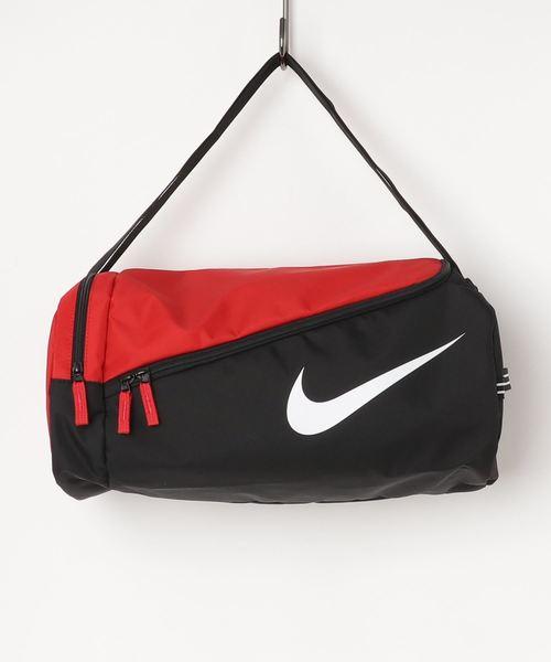 NIKE(ナイキ)の「NIKE/ナイキ/Swimsuit bag/スイムボストンバッグ水着入れバッグ(スイムグッズ)」 レッド