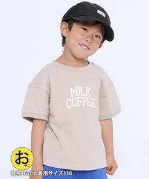 【coen キッズ/ジュニア】Good dayカレッジロゴTシャツ
