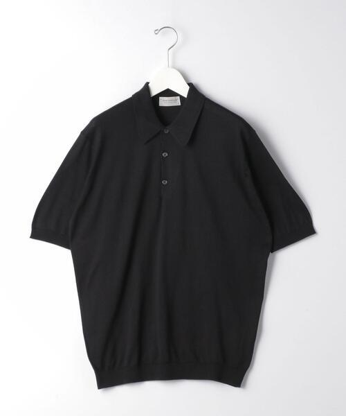 ★ [ ジョンスメドレー ] JOHN SMEDLEY ISIS ニット ポロシャツ