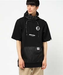 AAPE S/S SLEEVE PULLOVER(パーカー)