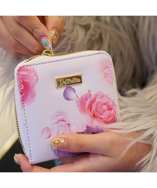 finest selection a03f3 b4d27 【ウォレット】DaTuRa(ダチュラ)×Gizmobies/DREAMYFLOWERWH WALLET-S