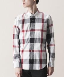 BLACK LABEL CRESTBRIDGE(ブラックレーベル・クレストブリッジ)のロイヤルオックスクレストブリッジチェックシャツ(シャツ/ブラウス)