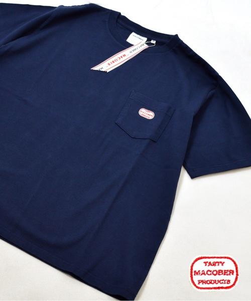 MACOBER(マコバー)ポケット半袖Tシャツ(HOMME)