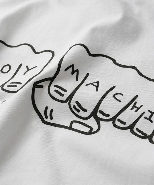 WEB限定 TOY MACHINE/トイマシーン Fist バックプリント ロンT