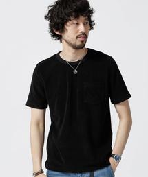 ショートリングパイルTシャツ