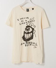スコッチアンドソーダ SCOTCH & SODA / イラストTシャツ