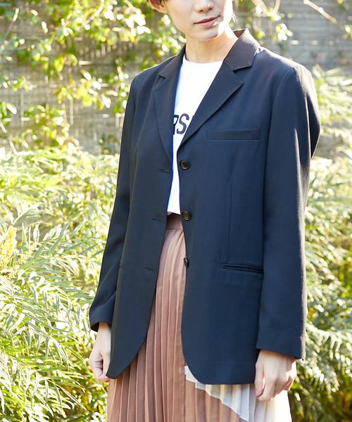 CONVERSE TOKYO(コンバーストウキョウ)の「テーラードジャケット(テーラードジャケット)」 ネイビー