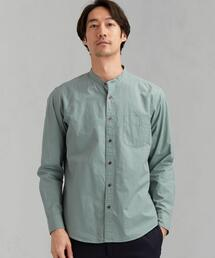 CM G/D メンアサバンドカラー シャツ