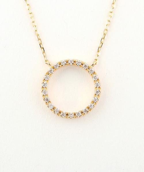 最新な K18YG ダイヤモンド ネックレス「パーティクル」(ネックレス)|ete ete ダイヤモンド bijoux(エテビジュー)のファッション通販, ライコウ:e33195ef --- rise-of-the-knights.de