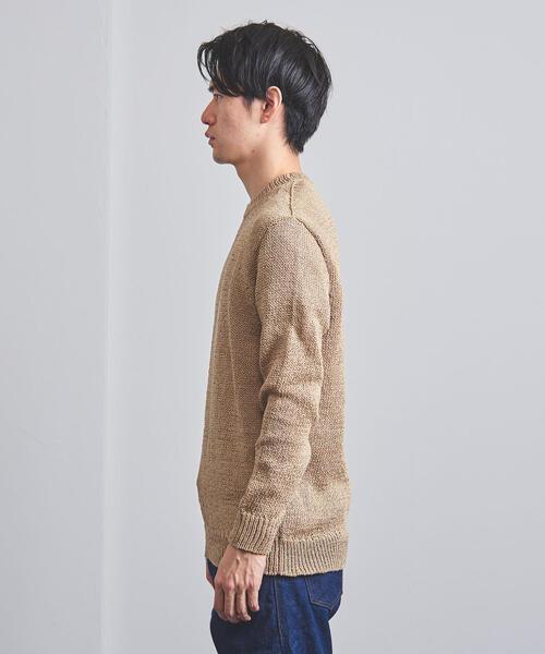 <tsuki.s(ツキドットエス)> クルーネック ニット