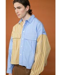 <JieDa × monkey time> PANEL SHORT SHIRT/ショートシャツ