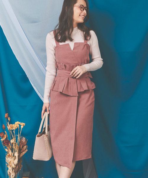 【残りわずか】 2WAYペンシルOP(ジャンパースカート) Noela(ノエラ)のファッション通販, 勝浦町:90a13a5a --- 5613dcaibao.eu.org