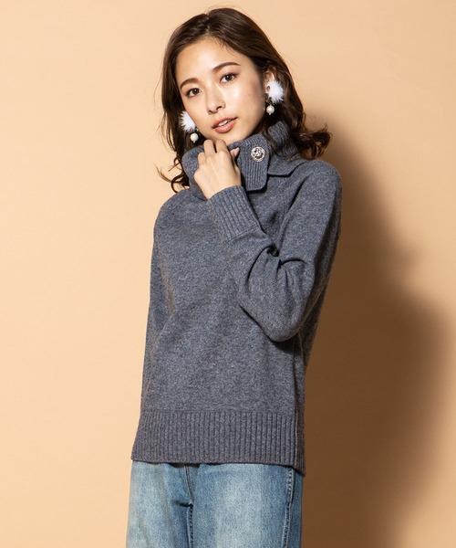 一流の品質 《7色展開》《定番人気アイテム》異ゲージタートルネックニット(ニット/セーター) QUEENS|QUEENS COURT(クイーンズコート)のファッション通販, アドパック:7352fdaf --- steuergraefe.de