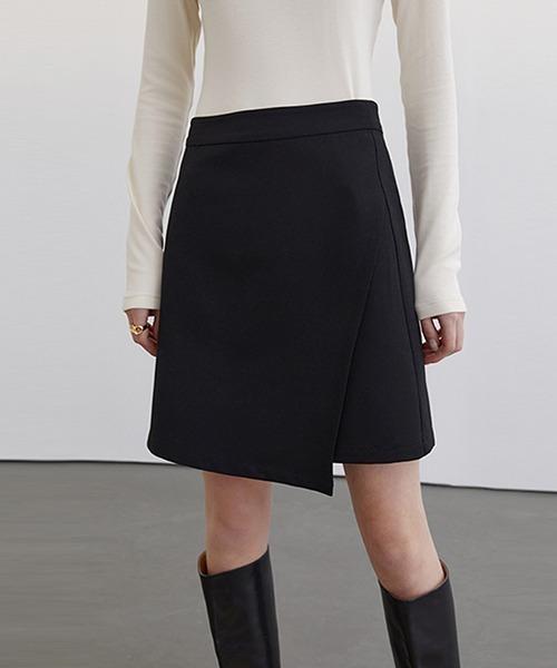 【Fano Studios】【2021SS】Asymmetric short skirt FC21B008