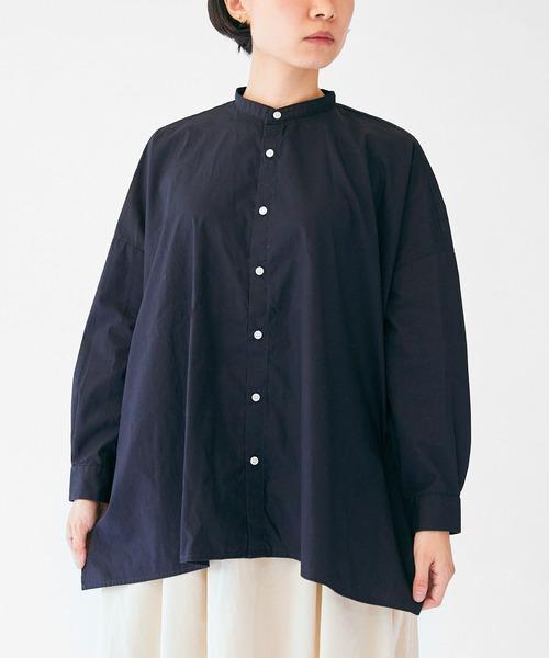 日本最大のブランド FARMS SETTO SHIRT:スタンドカラーワイドシルエットシャツ(シャツ/ブラウス) SETTO(セット)のファッション通販, 新しいブランド:928187a3 --- tsuburaya.azurewebsites.net