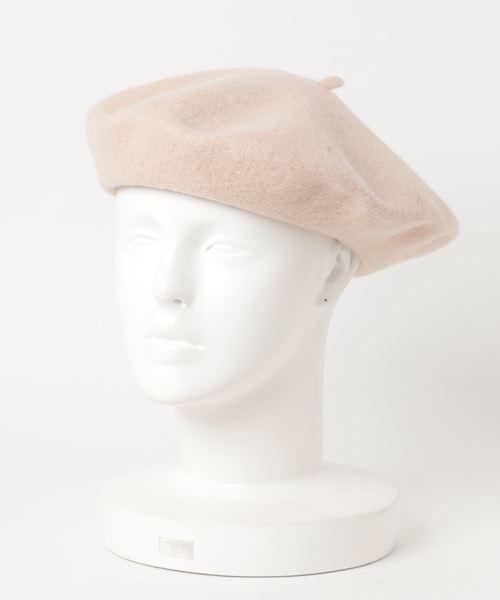 GGD SELECT(ジージーディー セレクト)の「GGD SELECT / ウールベレー帽(ハンチング/ベレー帽)」|ブラウン