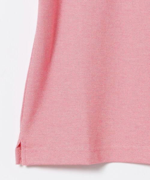 BEAMS GOLF PURPLE LABEL / ラメ ライン ポロシャツ