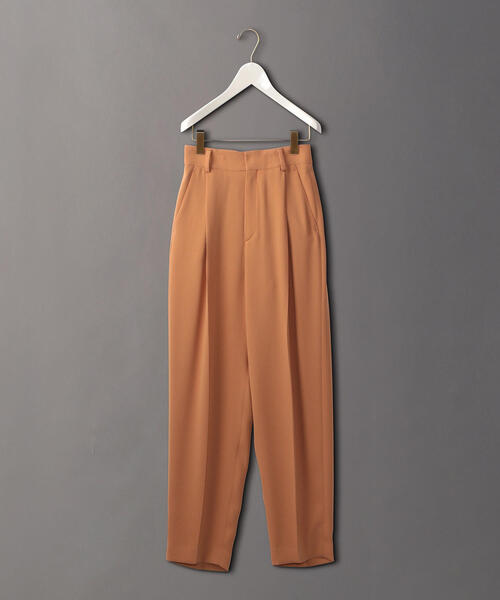 <6(ROKU)>GEORGETTE TUCK PANTS/パンツ