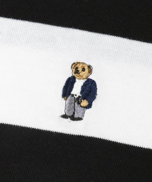 別注ROSTER BEAR BODER T-SHIRTS