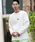 London Denim(ロンドンデニム)の「空紡糸コットン / オーバーサイズ ロングスリーブT バックプリント(Tシャツ/カットソー)」|詳細画像