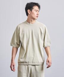 <AURALEE(オーラリー)>×<New Balance(ニューバランス)> WHOLEGARMENT Knit crew short sleeve■■■