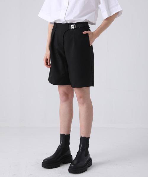 【chuclla】【2021/SS】Belt-set shorts pants sb-4 chw1428