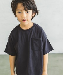 pairmanon(ペアマノン)の【プレミアムコットン100%】ビッグシルエット ボックスシルエット ポケット付き 半袖 Tシャツ カットソー ユニセックス(Tシャツ/カットソー)