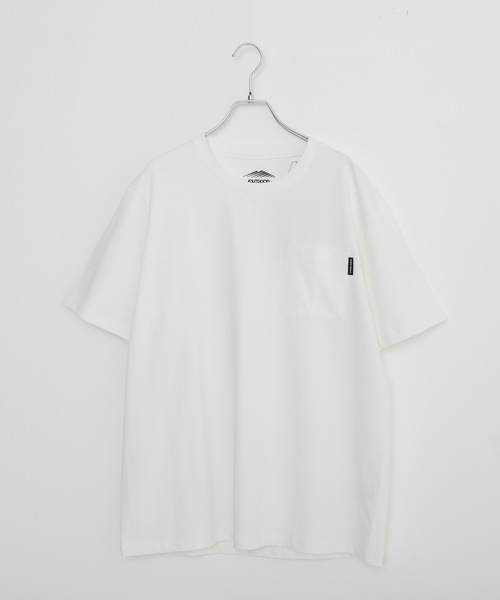 触れるとヒンヤリ接触冷感胸ポケットTシャツ