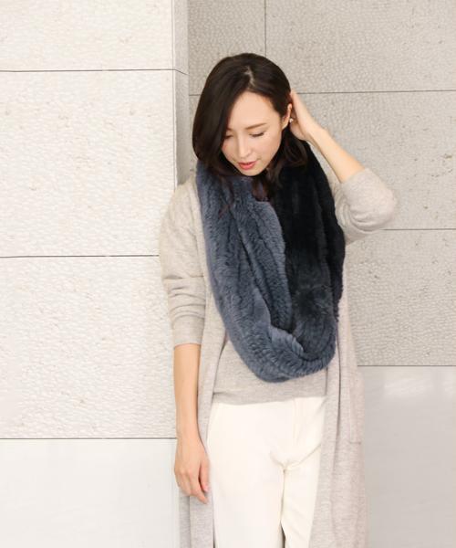 【お買得!】 レッキスファースヌード(ストール/スヌード) sankyo sankyo shokai(サンキョウショウカイ)のファッション通販, アライチョウ:684f84e1 --- pyme.pe