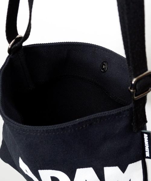 ADAM PATEK/【WILKES】LOGO Musette Bag