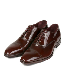 Paul Smith(ポールスミス)のPUNCHED CAP TOE LEATHER SHOES / 190801 LORD(ドレスシューズ)
