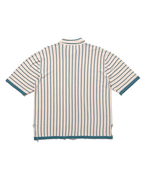 Frank stripe SH / フランクストライプシャツ