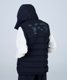 Y-3(ワイスリー)のM SEAMLESS DOWN HOODED VEST(ベスト)