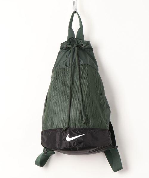 NIKE(ナイキ)の「NIKE/ナイキ/Swim bag/メッシュバックパック スイムバック水着入れバッグ(スイムグッズ)」 モスグリーン