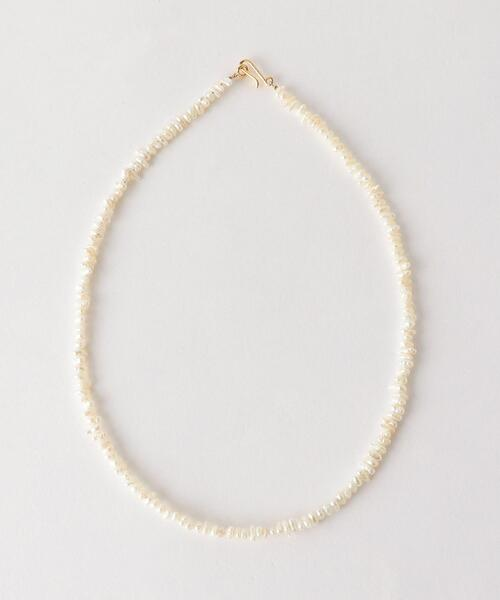 <PREEK>BEADS PEARL NECKLACE/ネックレス