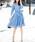 GeeRA(ジーラ)の「【新色追加】たっぷりドレープのリボンベルト付シャツワンピ(シャツワンピース)」 詳細画像