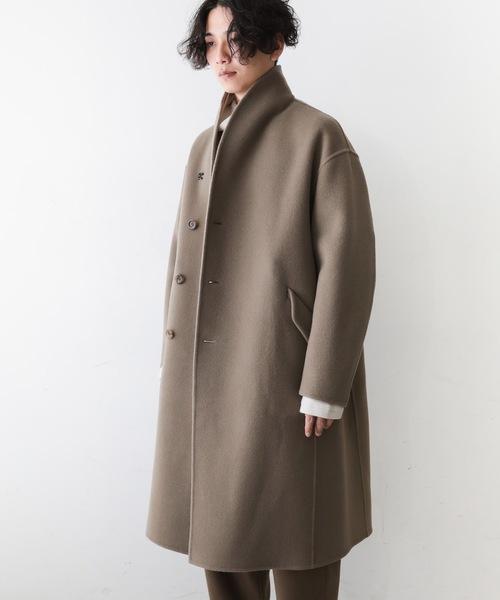 低価格で大人気の カシミヤ混ダブルフェイスビーバー ラウンドカラーコート(チェスターコート) KAZUYUKI KAZUYUKI KUMAGAI ATTACHMENT(カズユキクマガイアタッチメント)のファッション通販, 三日月:6deb1fe0 --- svarogday.com