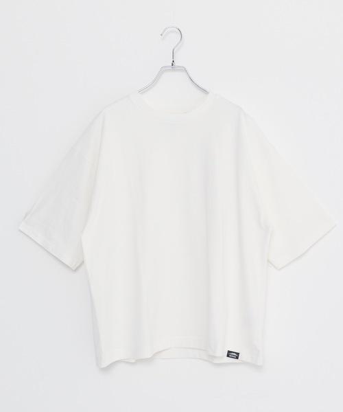 USAコットンヘビーウェイトビッグシルエット7分袖Tシャツ