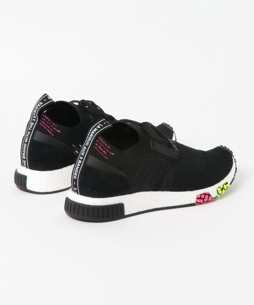 adidas Originals NMD_RACER PK (コアブラック/コアブラック/ソーラーピンク)【SP】
